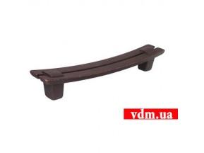 15037Z1280B.22 ручка L-128mm старая америка (черная) (152*18мм)