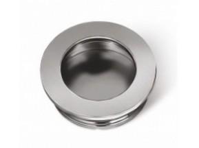 0204 MD ручка врезная круглая хром d-40mm БЕЗ СКИДКИ! (UZ-00B224-01)