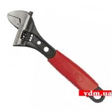 Ключ разводной YATO Профи с обрезиненной рукояткой 200 мм