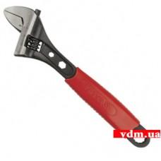 Ключ разводной YATO Профи с обрезиненной рукояткой 250 мм