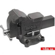 Тиски слесарные YATO поворотные 200 мм