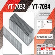 Гвозди YATO для степлера тип J 12 мм 1000 шт.