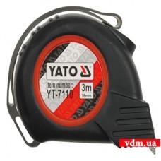 Рулетка YATO с нейлоновым покрытием и магнитами 5 м х 25 мм