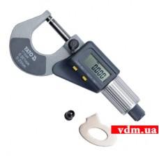 Микрометр электронный YATO 0-25 мм