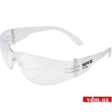 Защитные очки YATO открытые прозрачные (YT-7360)