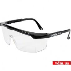 Защитные очки YATO открытые прозрачные (YT-7361)