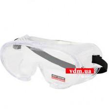 Защитные очки YATO закрытые прозрачные (YT-7380)