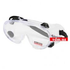 Защитные очки YATO закрытые прозрачные (YT-7381)