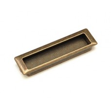 15203Z1430B.09 ручка врезная L-128мм старое золото (143*40мм)