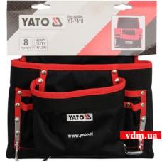 Сумка для инструментов YATO 8 отделений (YT-7410)