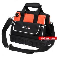 """Сумка для инструментов 15"""" YATO 15 отделений (YT-74360)"""