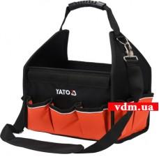 """Сумка для инструментов 12"""" YATO 16 отделений (YT-74370)"""