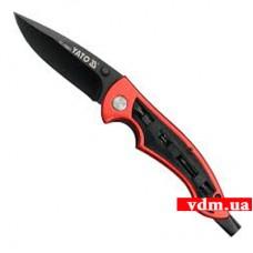 Нож универсальный Yato складной 75 мм (YT-76030)