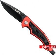 Нож Yato складной c отверточными насадками (YT-76031)