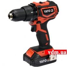 Аккумуляторная дрель-шуруповерт YATO YT-82794