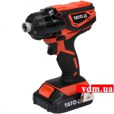 Аккумуляторный ударный шуруповерт YATO YT-82800