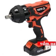 Гайковерт ударный аккумуляторний YATO YT-82804