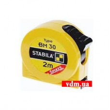 Рулетка Stabila Type BM 30 SP 2 м x 13 мм (16449st)