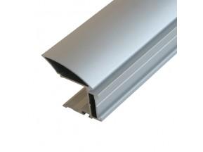 Ручка MULTIOMEGA WIDE 16/18 mm  алюминий (с возможностью вставить щетку) (L-2,75 м ) 88710000-2750