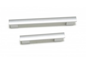 311B wpy ручка L-128мм inox никель (UA-B31112806)