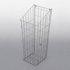 Корзина для белья 500мм, алюминий серебряный REJS (435х255х600мм) (WE21.0103.01.002)