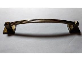 11505  ручка L-128мм, старое золото