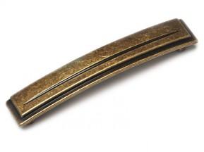 15137Z1280B.09 ручка L-128mm старое золото (150*25мм)