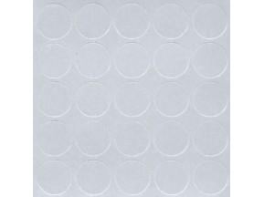 307 Заглушка самоклейка д-14мм конф. серый (25шт)