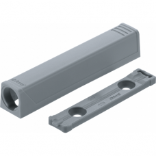 TIP-ON держатель прямой длинный серый (уп=50шт) 956A1201