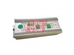 Трансформатор LED 20W влагозащ.  IP-67  12v LUX, металл (170х34х24мм)