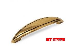 15077Z0960B.07 ручка L-96мм старое золото (127*24мм)
