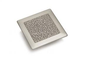 2G12057Z.SF ручка L-32мм серебро (квадрат) (57*57мм)