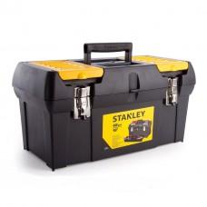 Ящик для инструментов Stanley 2000 с 2-органайз., МЕТАЛЛ.ЗАМОК (1-92-066) БЕЗ СКИДКИ