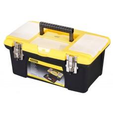 Ящик для инструментов Stanley с 2-органайз. МЕТАЛЛ.ЗАМОК,  (1-92-905)