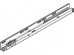 559.5001T.L Направляющая Tandembox под Tip-on L-500мм, левая