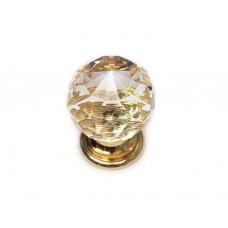 9991.100 ручка 1-крепление золото+кристал d-35мм