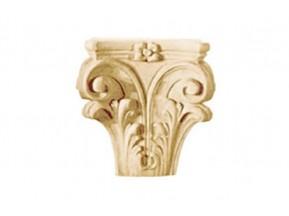 286 Орнамент из древесной пыли (15x13см, выступ=4,5см) /F560286/