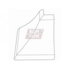 Уголок д/плинтуса наружный алюминий (110)