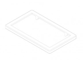 Заглушка AMS 1730 для основного профиля (AMS 1706,1736) (шт.)