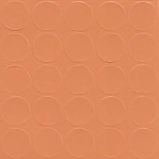 066 Заглушка самоклейка д-14мм конф. оранж кроноп (25шт)