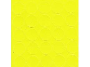 069 Заглушка самоклейка д-14мм конф. зеленая горошек (25шт)