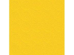 073 Заглушка самоклейка д-14мм конф. желтый кроноп (25шт)