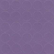 079 Заглушка самоклейка д-14мм конф. фиолетовый кроно (25шт)