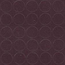 080 Заглушка самоклейка д-14мм конф. баклажан кроно (25шт)