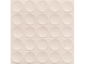 308 Заглушка самоклейка д-14мм конф. серый песок (25шт)