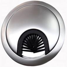 Заглушка для кабеля металлическая d-60мм алюминий GTV (PM-LBFI60-05)