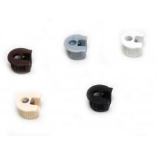 Корпус RAFIX пластик алюминий 18мм (263.10.205)  (уп. = 1000шт)