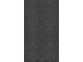 059 Заглушка самоклейка д-20мм миниф. антрацит пфляйд (28шт)