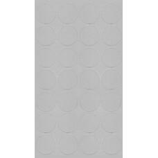 060 Заглушка самоклейка д-20мм миниф.  серый платина (28шт)