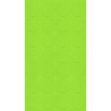 069 Заглушка самоклейка д-20мм миниф. зеленая горошек (28шт)